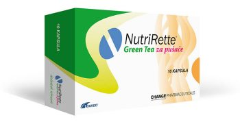 NutriRette® Green Tea, capsules - In preparation