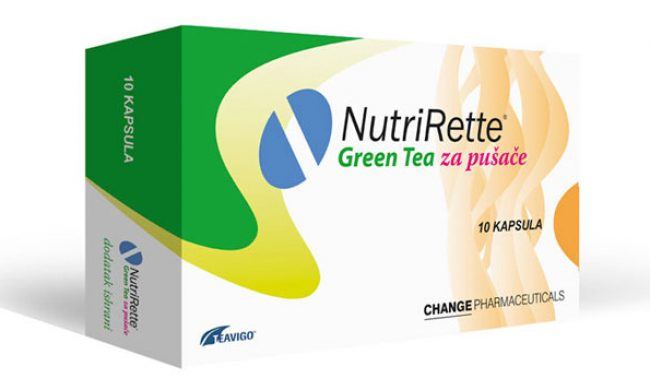Nutrirette® Green Tea – In preparation